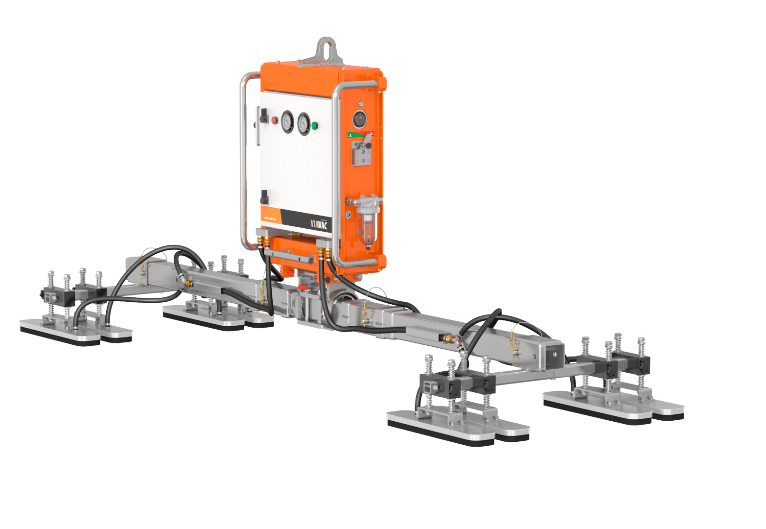 CladBoy: vacuum lifter for sandwich panels and more | VIAVAC